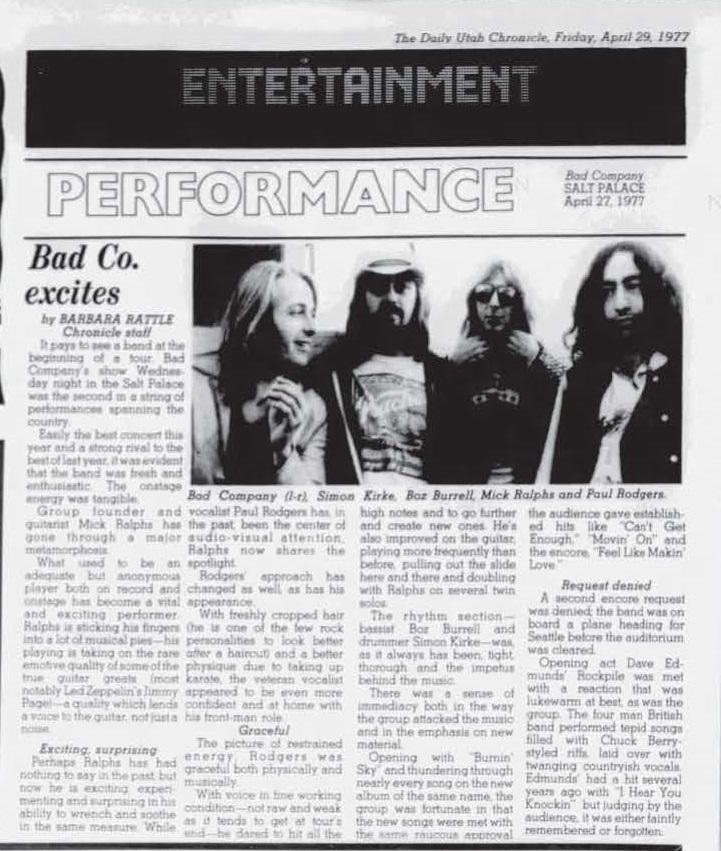 Rockpile Live Shows 1977-1981