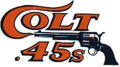 the houston colt 45s baseball club 1962 1964 rh thompsonian info colt 45 logo vector colt 45 liquor logo