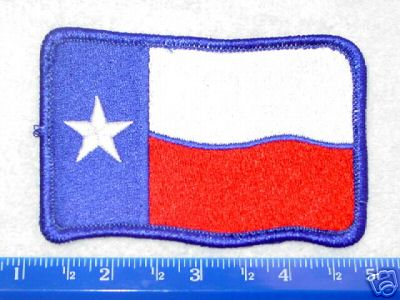 Colts Texas Flag patch (worn on shoulder)